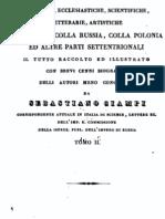 1839 CIAMPI Sebastiano Bibliografia_critica_delle_antiche_reciproche Corrispondenze Dell'Italia Vol. 2