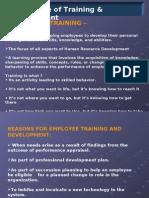 Traning & Development PPt 2