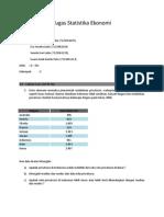 Tugas Statistika Ekonomi