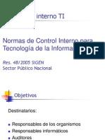 Control Interno TI