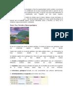 Historia Geologica Tierra