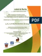 Convocatoria VIII Congreso Internacional de Pensamiento Latinoamericano3