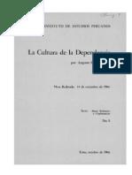 Augusto Salazar Bondy - La Cultura de La Dependencia