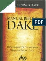 MANUAL BÍBLICO DAKE