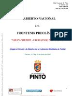 Caracteristicas Gran Premio Ciudad de Pinto 2009