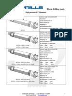 Sinodrills Dth Drilling Tools, dth hammer, dth bits
