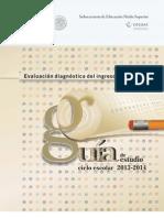 Guia de Estudio Para Examen Diagnostico