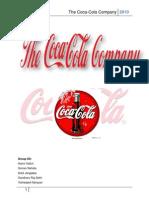 Organizational Structure of the Coca Cola Company