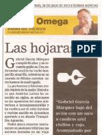 Las Hojarascas - Gabriel Garcia Marquez