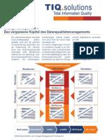 Change Management – Das vergessene Kapitel des Datenqualitätsmanagements