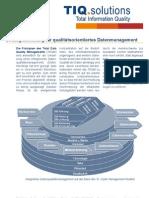 Strategieberatung für qualitätsorientiertes Datenmanagement