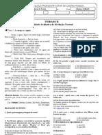 atividade de fixação II_7 ANO_PROD TXT_UNIDADE II