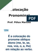 Slides Colocacao, Demonstrativos, Tipos de Discurso