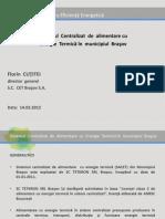 Sistem Centralizat de Termoficare BRASOV