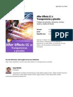 After Effects Cc 2 Transparencias y Pinceles