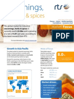 Seasonings, Herbs & Spices MARKET FOCUS