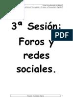 3sesión-Foros y redes sociales