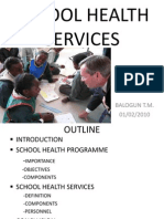 School Health Services