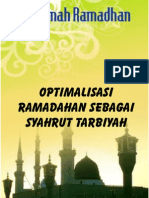 Cr07-Optimalisasi Ramadhan Sebagai Syahrut Tarbiyah