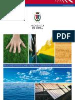 Buone Pratiche per il Risparnio Energetico - Nicola Zingaretti - Provincia di Roma