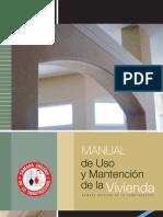 Manual de Uso y Mantención de la Vivienda C.Ch.C.