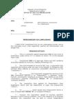 Sample Memorandum for the Prosecution_Falsification Case