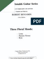 Three Floral Moods