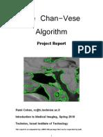 Chan Vese Algorithm