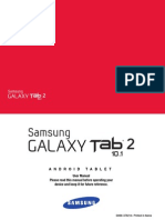 Verizon Wireless Galaxy Tab 2 10.1 English User Manual