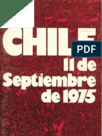 Chile, 11 de Septiembre de 1973