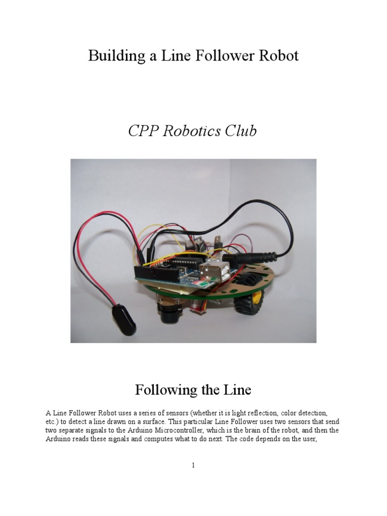 Building A Line Follower Robot Electrical Connector Arduino 2 Transistor