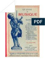 Musique Le livre de musique Claude Augé