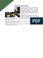 TRIS Bukukan Penjualan Bersih
