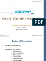 PHP Security by Mugdha and Anish
