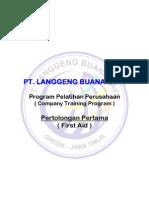 125583933 Materi Training Pertolongan Pertama First Aid and CPR Training First Aid Training Kit