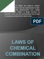 Basic-laws of Chemcombi