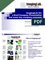 Presentazione Di Imaging Lab - ImagingLab