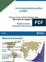 NI - Presentazione Di National Instruments- La ma Di Programmazione Grafica LabVIEW