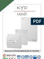Manuale Programmazione Da Tastiera Kyo v.2.4