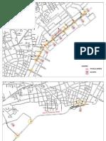 Ironman Race Map in Cebu City