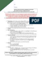 Descriptif RLB TC - Removing Linguistic Barriers Juin 2013 Calais