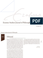 Erasmus Student Journal of Philosophy #4 (July 2013)