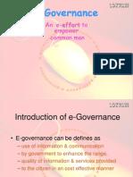 E -governence