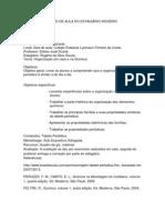 Plano de aula - Estagiário Rogério