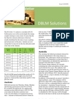 DBLM Solutions Carbon Newsletter 25 July