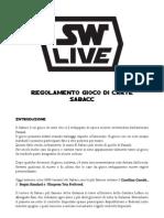 Regole Sabacc