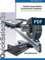 Guided Linear Motion Components & Systems