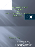 The Need for Project Planning