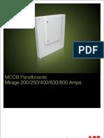 ABB MCCB Panelboards Mirage