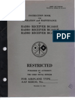 Radio Receiver BC-348-E Operations, Maintenance, and Repair Manual